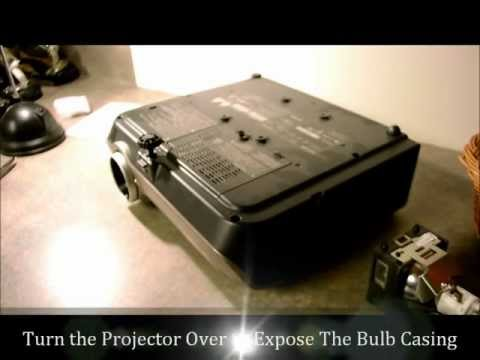 How To Change A Projector Lamp Or Projector Bulb Replacement Lamps