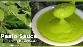 Pesto Sauce Recipe | Pesto sauce recipe in hindi | Basil Pesto Sauce