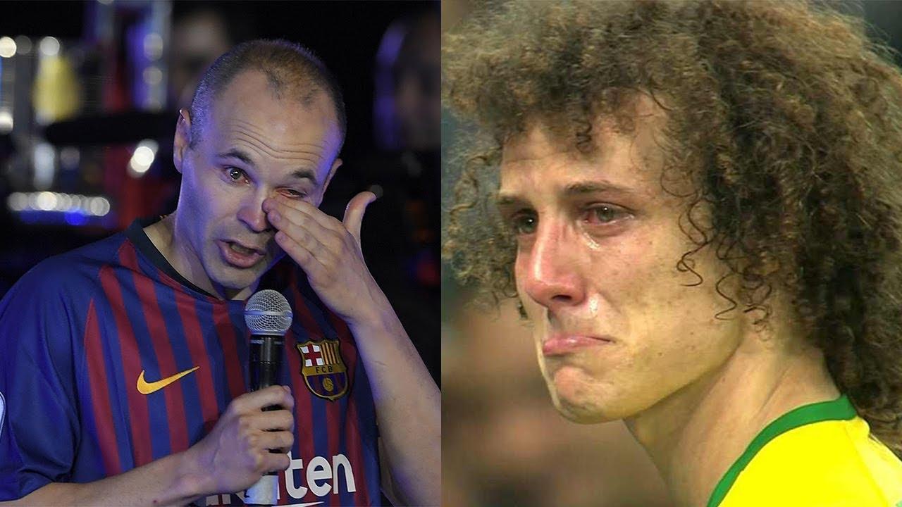 لحظات عاطفيه في كرة القدم ستجعلك تبكي في النهايه