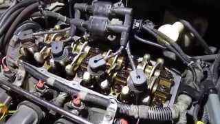Запуск двигателя  DODGE neon 2.0 без крышки клапанов