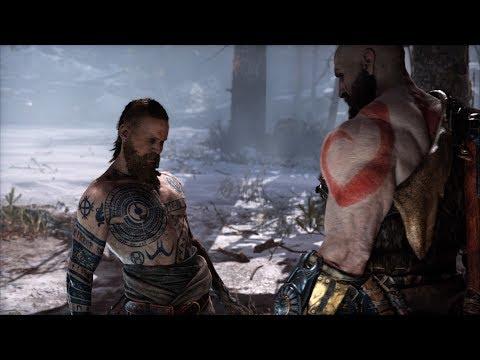 God of War - Кратос против Чужака