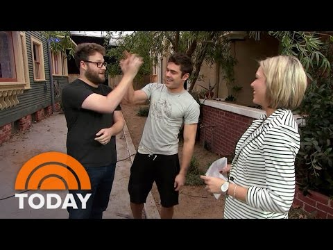 Seth Rogen, Zac Efron Talk From The Set Of 'Neighbors 2' | TODAY