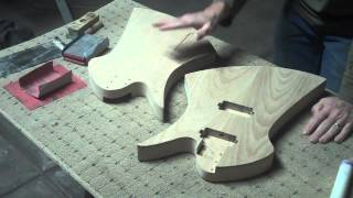 How To Apply A Water-Based Finish On An Electric Guitar Body Part 1