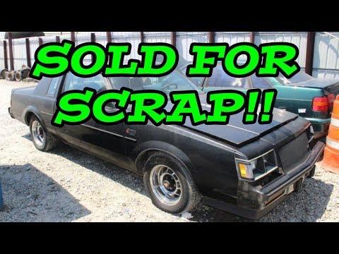 JUNKYARD RESCUE! Buick Grand National - Scrap National Part 1