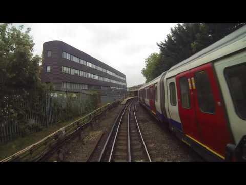 Hammersmith & City Line Cab Ride Hammersmith - Barking