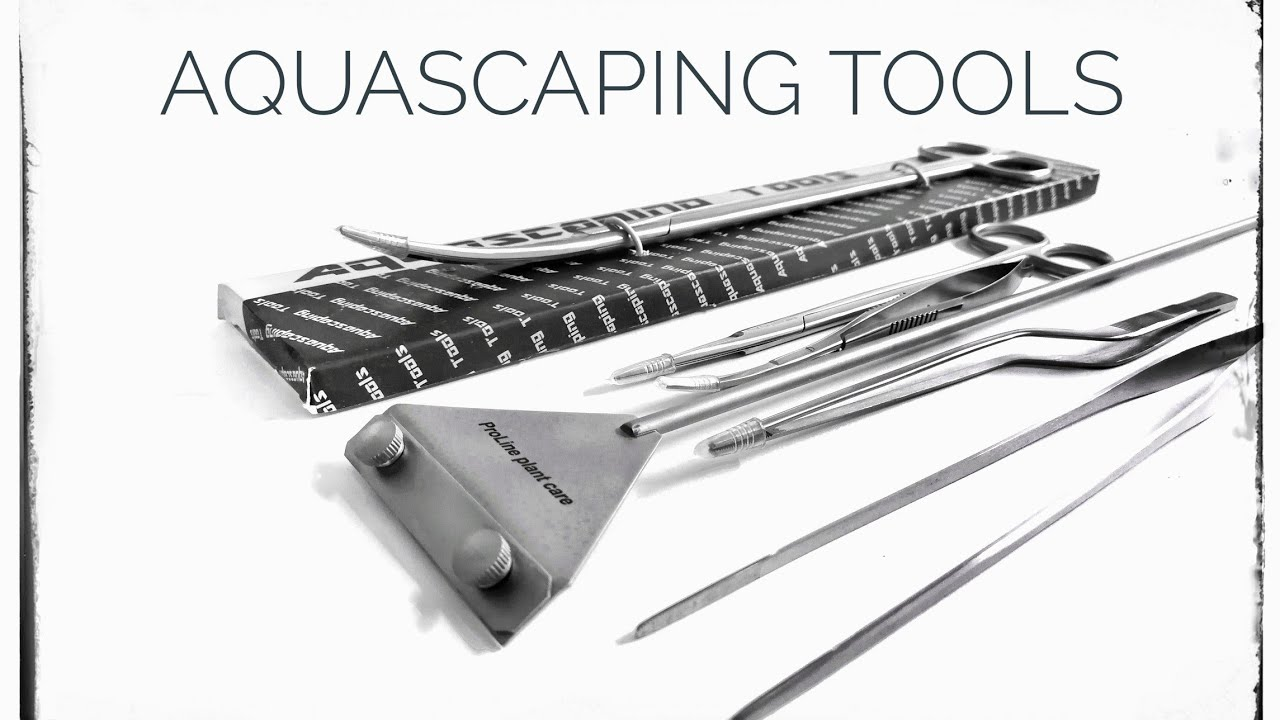 AQUASCAPING TOOLS - YouTube