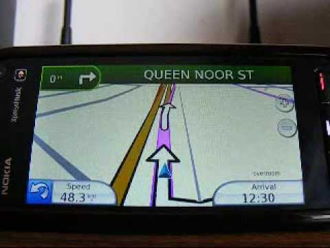 GPS Map of JORDAN '' Amman ''