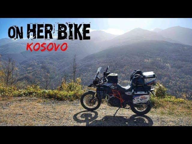 Kosovo. On Her Bike Around the World. Episode 33