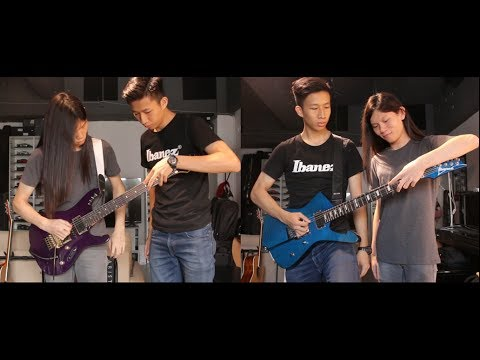 DragonForce  Valley of the Damned  Guitar  feat Leo Poon