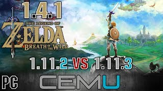 THE CEMU WILD TÉLÉCHARGER 1.11.3 OF BREATH ZELDA