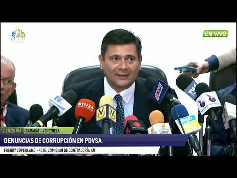 Venezuela - Comisión de Contraloría ofreció detalles relacionados a casos de corrupción - VPItv