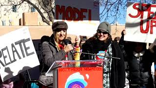 WOMEN'S MARCH SANTA FE  2019 – SANTA FE PLAZA – Solace Crisis Center