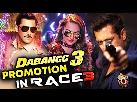 Dabangg 3 Promotion In Salman Khan's RACE...