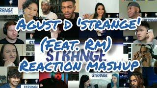 Download lagu AGUST D 'Strange' (Feat. RM) || Reaction Mashup
