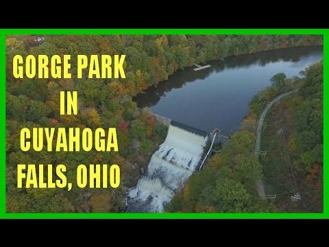 The Gorge Park in Cuyahoga Falls, Ohio - DRONE OHIO