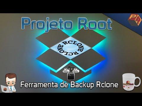 Realizando backup com  Rclone
