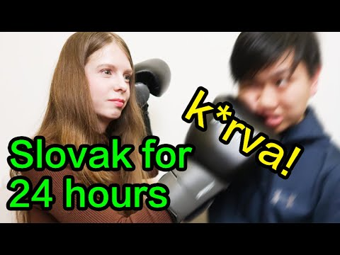 SPEAKING ONLY SLOVAK TO MY ASIAN BOYFRIEND FOR 24 HOURS CHALLENGE