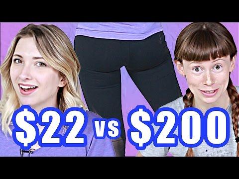 $22 Vs. $200 Workout Leggings