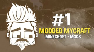ماين كرافت: #ماي_كرافت مودات - Minecraft: Modded MyCraft - #1 - البدايه