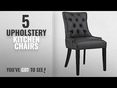 Top 10 Upholstery Kitchen Chairs [2018]: Modway Regent Modern Elegant Button-Tufted Upholstered