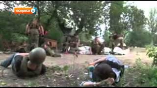 Донецьк. Журналісти Еспресо ТВ під обстрілом на передовій.