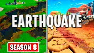 FIRST SHAKES IN FORTNITE THE EARTHQUAKE EVENT IS HERE! SEASON 8