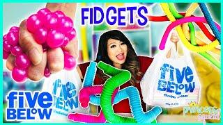 Five Below Fidget Toys Shopping Challenge Testing + Fidget ASMR