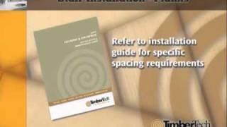 Timbertech Stair Plank Installation - Glenbrook U