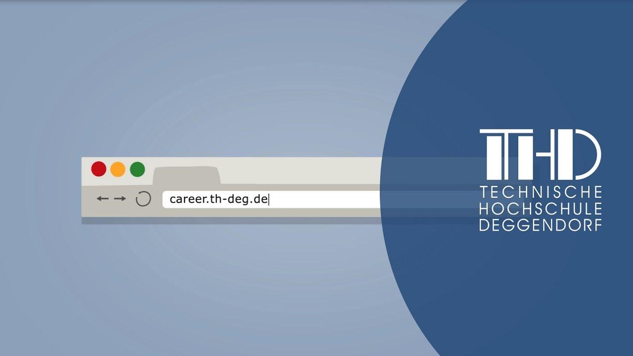 Wie Sie die Online-Karrierebörse der THD nutzen können - Technische ...