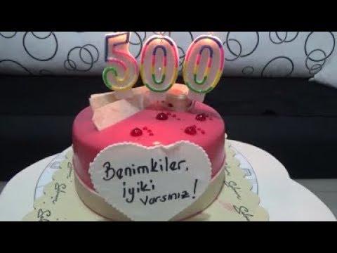 #GÜNLÜK VLOG 500#(HEP BİRLİKTE NİCE 500 VLOGLARA)