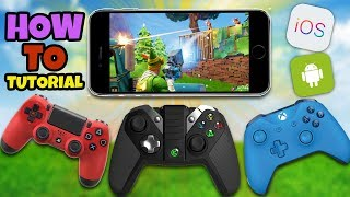 Comment utiliser un contrôleur dans Fortnite Mobile - Fortnite IOS Android Controller (No Hack/Cheat)