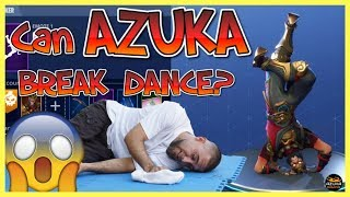 Fortnite Battle Royale | Azuka Break Dancing *IN REAL LIFE* must see it to believe it! As reqested