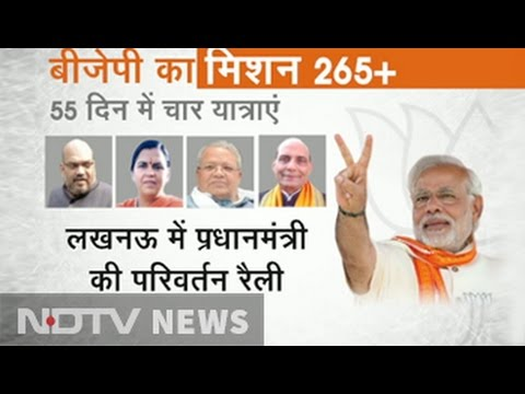BJP's Grand Campaign Plans for 'Mission 265+' in UP