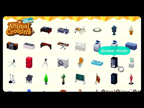How To Collect Every Furniture Item In Animal Crossing New Horizons!