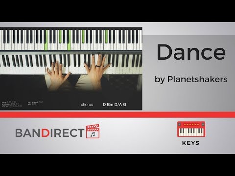 Dance By Planetshakers | Piano Tutorial