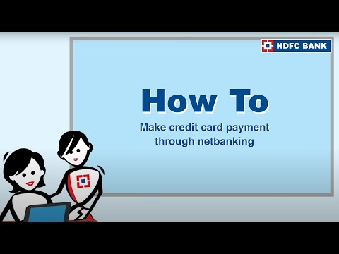 How To Pay Hdfc Credit Card Bill Payment On Netbanking Follow These Simple Steps