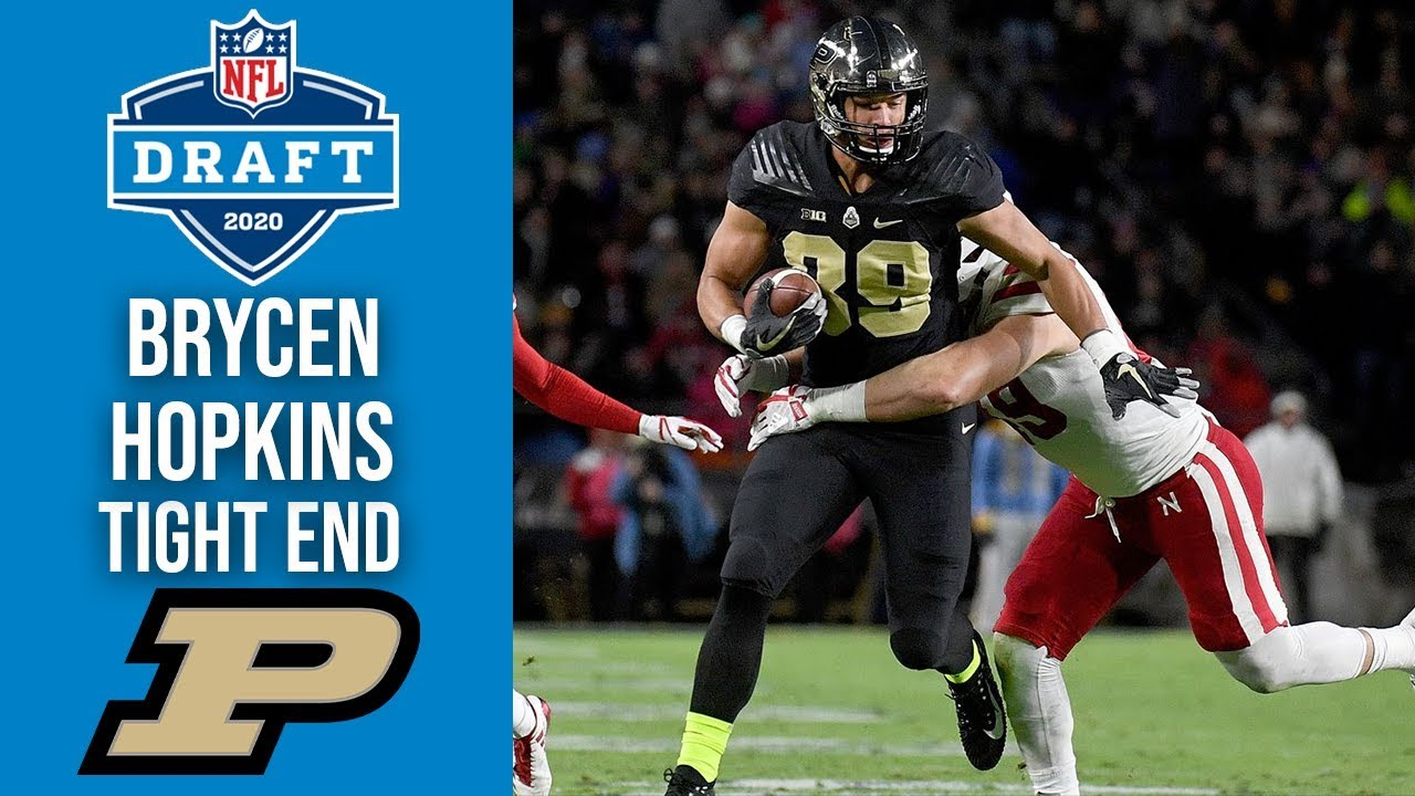 Brycen Hopkins | Tight End | Purdue | 2020 NFL Draft Profile