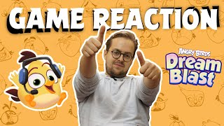 Angry Birds Game Reaction | David playing Dream Blast!