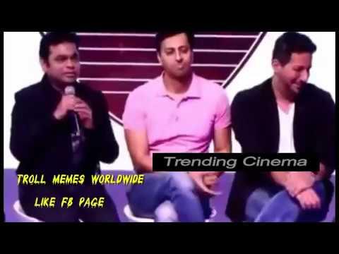 A R Rahman replies what he thinks about Yo Yo Honey Singh and Badshah