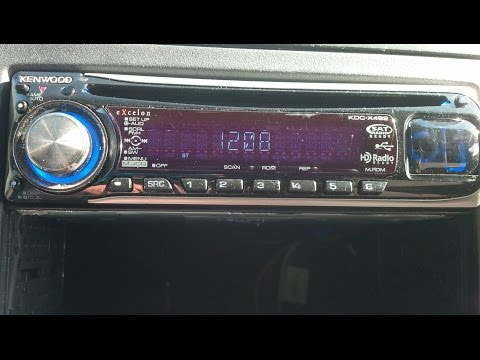How to reset kenwood stereo protect off!!!