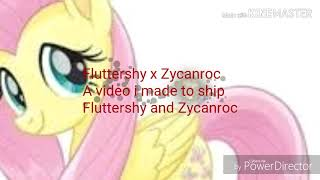Fluttershy x Zycanroc a video i made to ship Fluttershy and Zycanroc