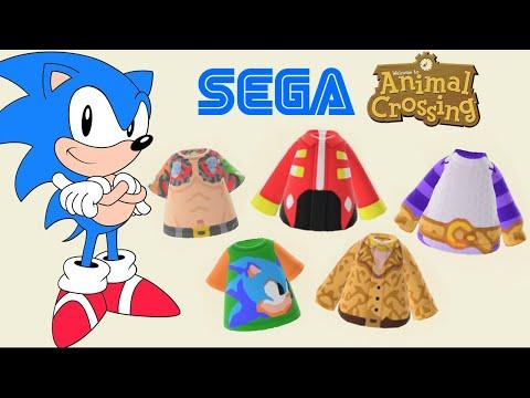 Sega Animal Crossing Codes Sonic Hatsune Miku Puyo So Much More