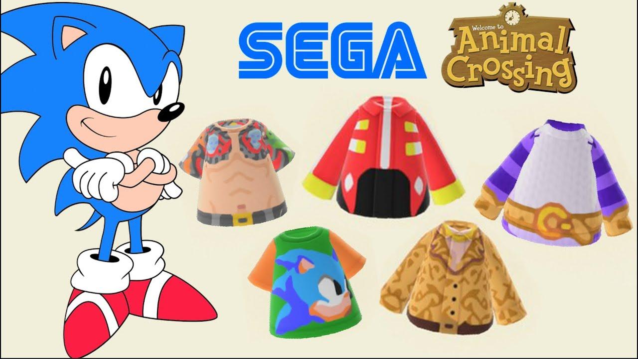 Sega Codes For New Horizons Sonic Yakuza Hatsune Miku And More Youtube