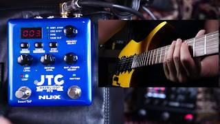 NUX JTC Drum & Loop PRO Dual Switch Looper Pedal review by Vinai T