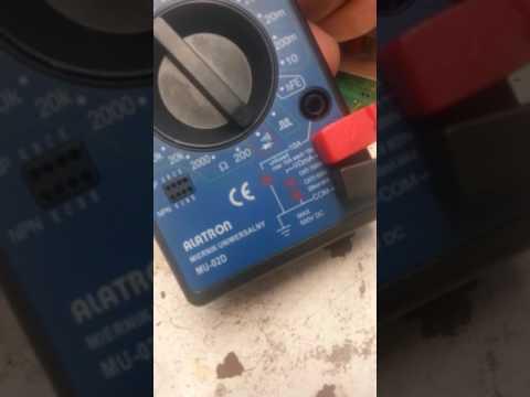 """Motorola HC05, lutowanie grotem typu ,,minifala"""""""