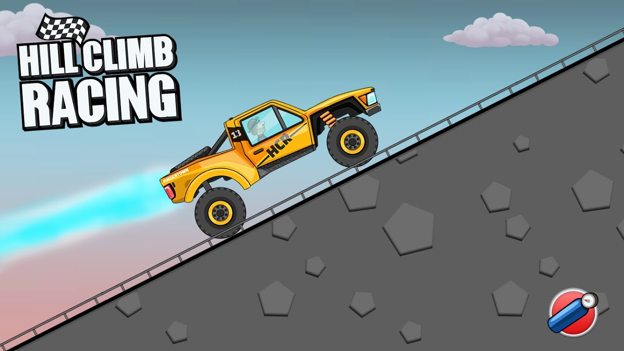 Hill Climb Racing Rally Car Highway