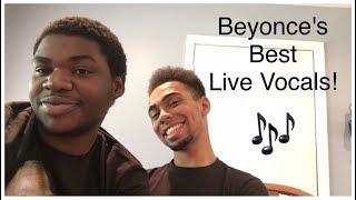 beyonces best live vocals