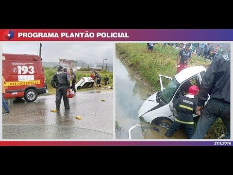 Plantão OCP 27/01/16 - Acidente grave em Guaramirim