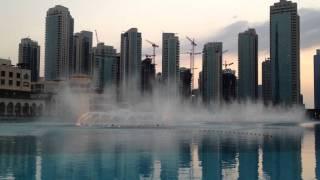 The Dubai Fountain - Arabic Music