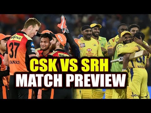 IPL 2018 : Chennai Super Kings vs Sunrisers Hyderabad, Dhoni vs Williamson, Match Preview | वनइंडिया